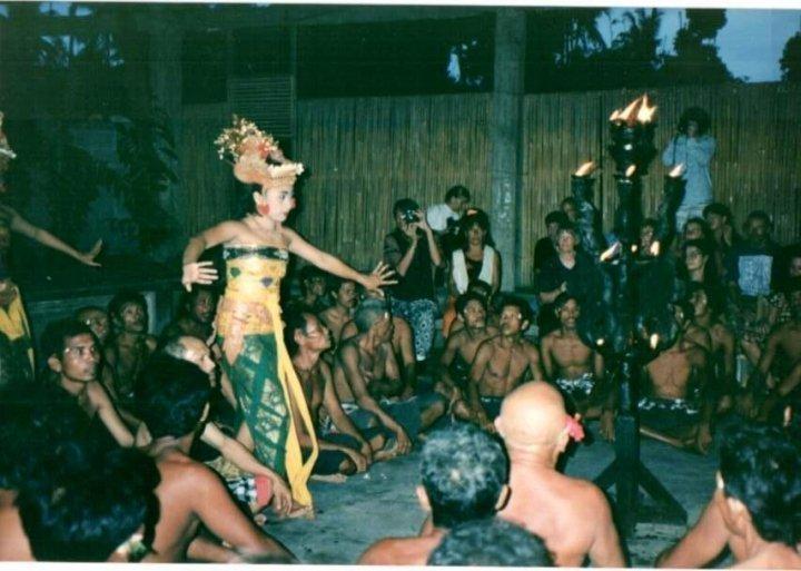 Balinese dancers - Ubud, Bali, Indonesia