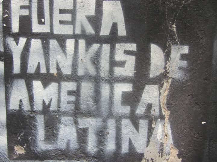 Buenos Aires - Fuera Yankis de America Latin