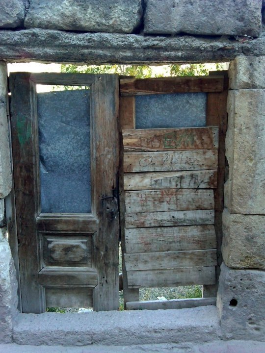 Old doors in Ürgüp Turkey