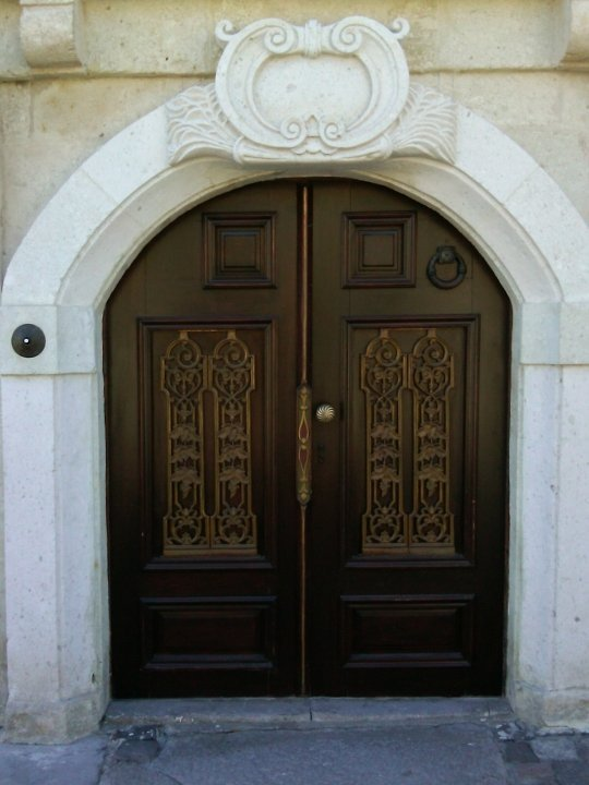 Doors of Sacred House boutique hotel in Ürgüp, Turkey