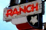 95.9 The Ranch radio station sign
