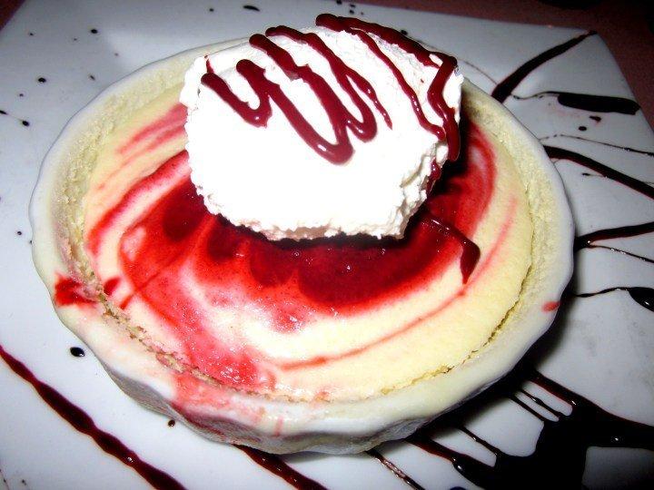 Red velvet cheesecake at Roosevelt's