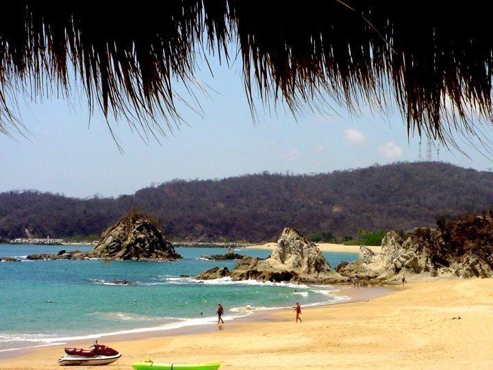 Beach - Huatulco Oaxaca Mexico