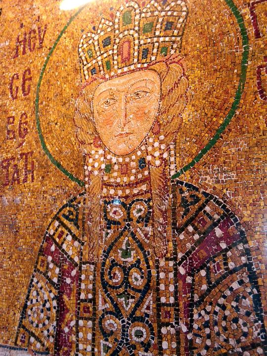 Hagia Sophia - Mosaic - Istanbul Turkey
