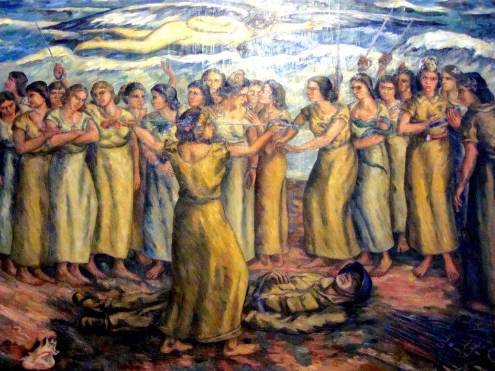 Medellin Colombia - Museo Pedro Nel Gomez - Painting