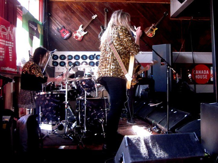 Winnipeg band Mise en Scene at Friends Bar on 6th Street Austin Texas
