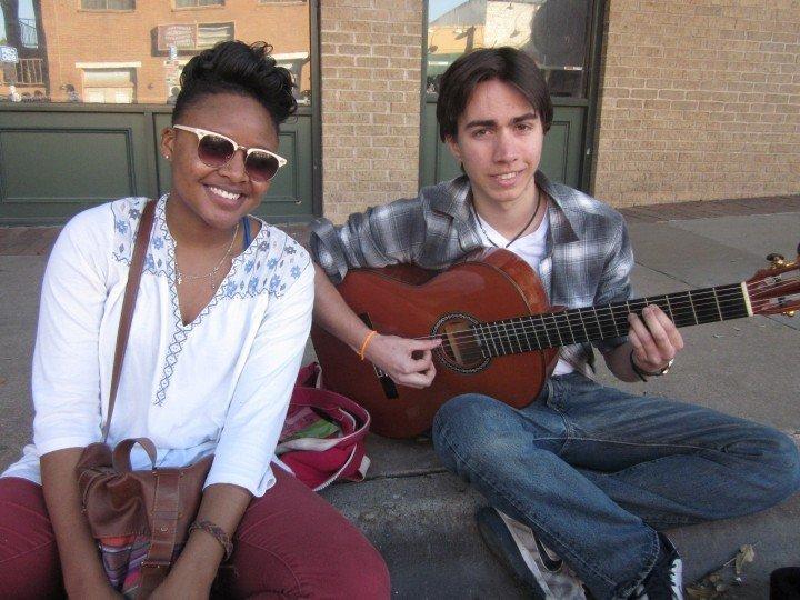 Yanni & Alvaro - students living in San Antonio Texas