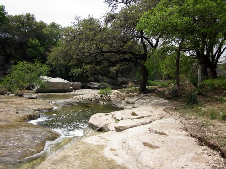 Bull Creek Park - Lakewood Drive Austin TX hiking trail