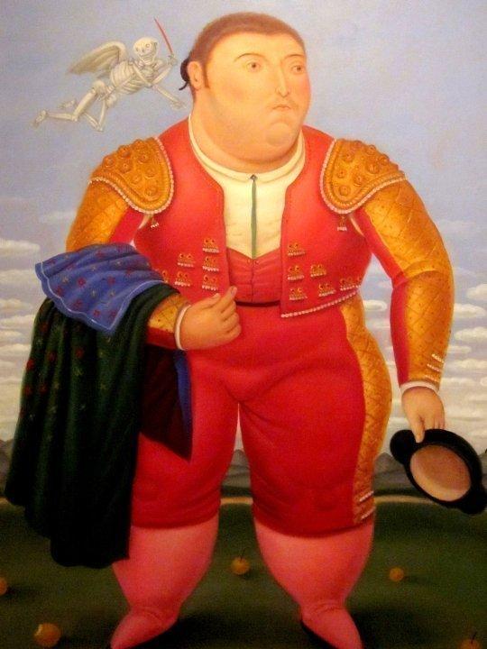 Matador by Colombian artist Fernando Botero