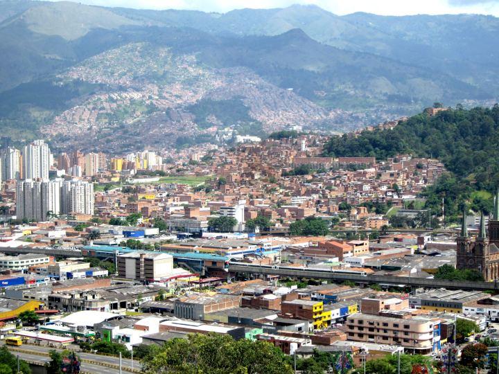 View of Medellin from Pueblito Paisa - Cerro Nutibara