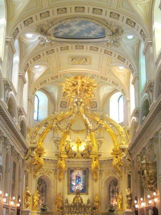 Notre Dame de Quebec Basilica-Cathedral - Quebec City Canada