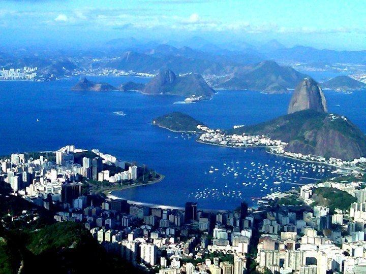 View of Rio de Janeiro Brazil from Corcovado