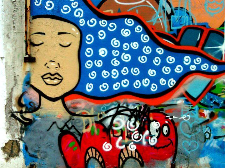 Street Art in Rio de Janeiro - Ipanema neighborhood