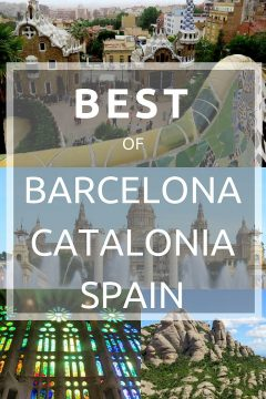 Best of Barcelona Catalonia Spain - Barcelona solo travel guide