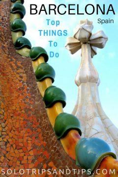 Barcelona Spain Best Things to do - Casa Batllo dragon - Catalonia Spain