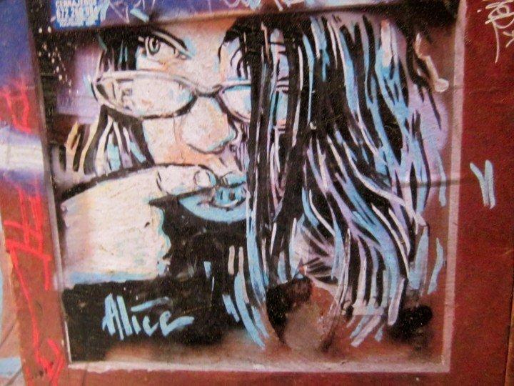 Graffiti in Barcelona's Barri Gotic