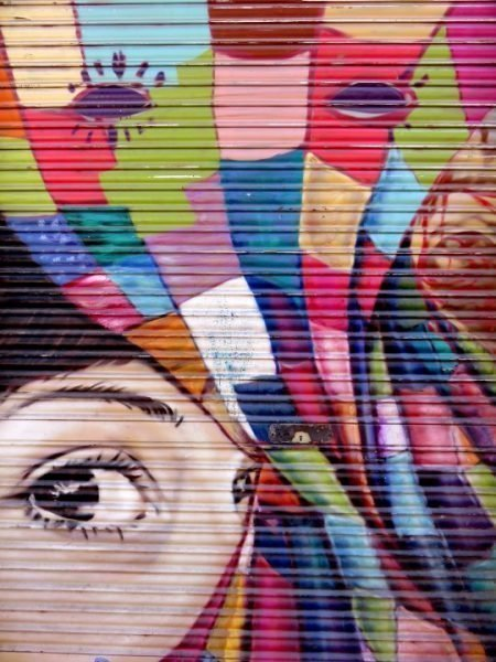 Graffiti and Street Art of Barcelona Spain