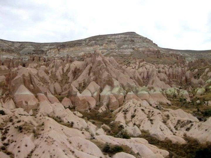 Cappadocia Turkey - Central Anatolia region - near the town of Urgup