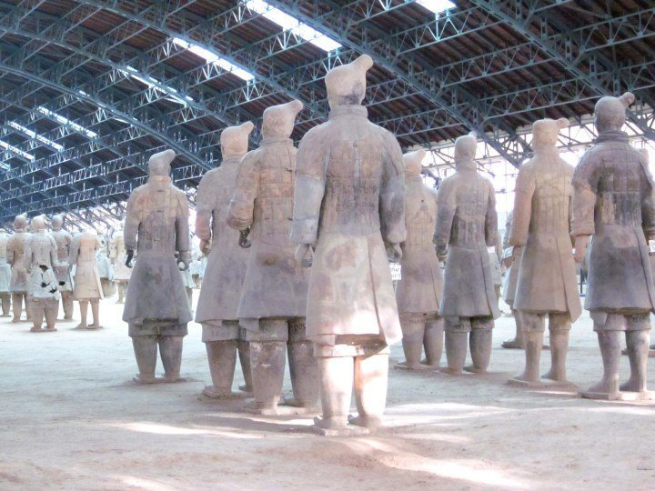 Historic walled city Xian - Museum of Qin Terracotta Warriors and Horses
