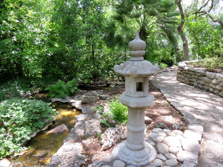 Japanese Gardens - created by Isamu Taniguchi when he was 70 years old
