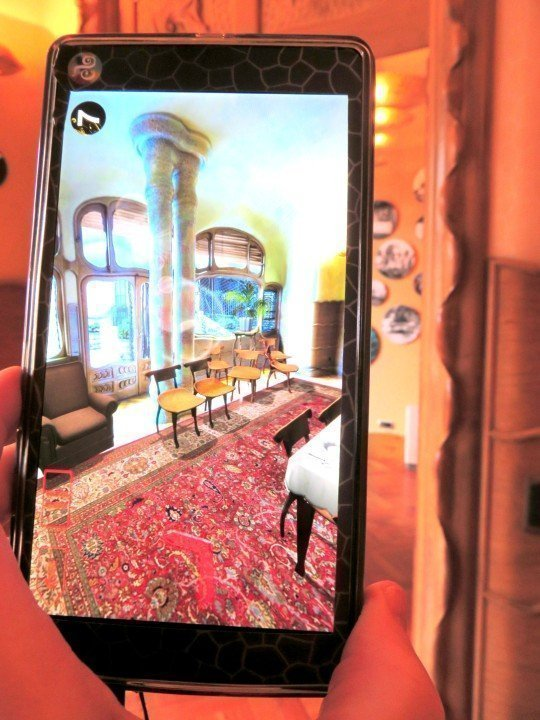 Casa Batllo visual guide with augmented and virtual reality - tours daily of Antoni Gaudi's design