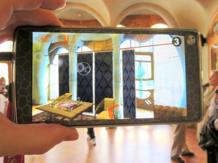 Casa Batllo video guide with augmented and virtual reality - enhance your tour of Gaudi's architecture and design