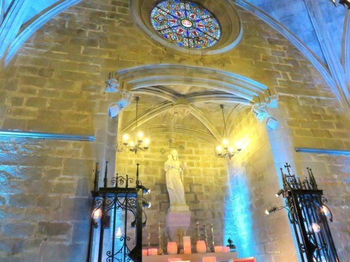 Santa Anna Church - often hosts classical guitar concerts and other cultural events - Barcelona