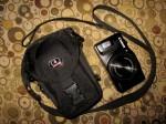 Canon Powershot SX700 HS fits the Tamrac camera bag - great travel combo