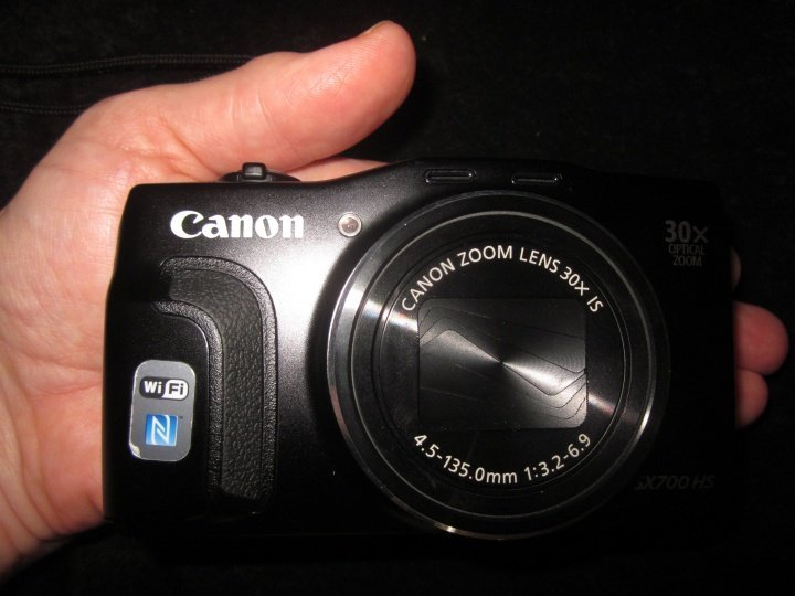 Best travel point and shoot camera for the money Canon SX700 with 30x zoom lens - superb