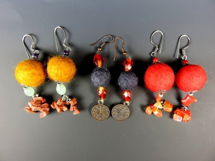 Earrings from everywhere i travel wearable souvenirs for Local handmade jewelry near me