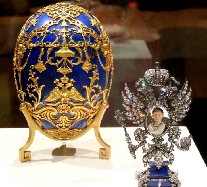 Fabergé Imperial Cesarevich by Henrik Wigstrom 1912 - Fabergé workshop Russia