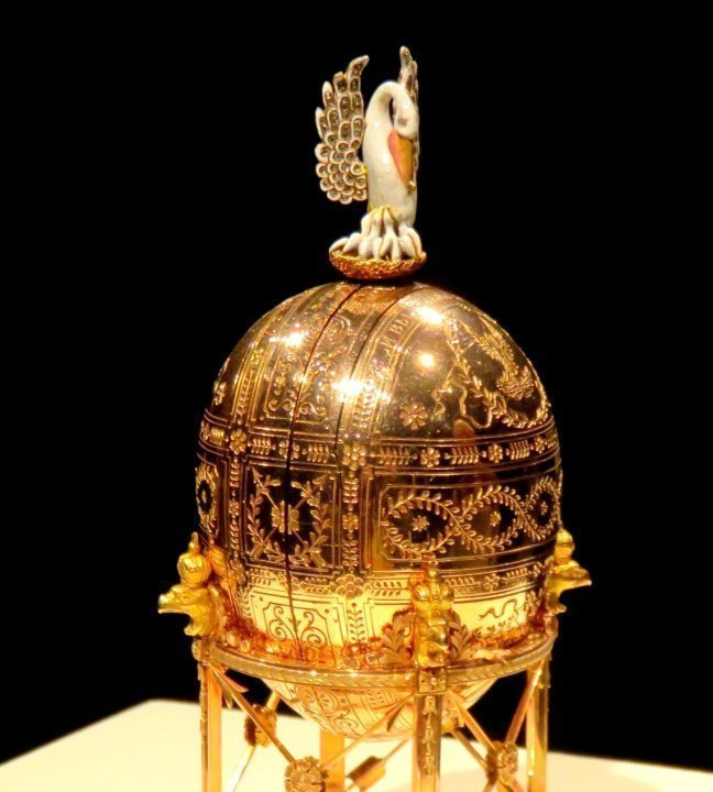 Fabergé Montreal MMFA Imperial Pelican Easter Egg 1898 Russia