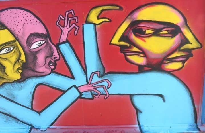 Under Pressure annual graffiti festival takes place in August in Montreal Quebec Canada