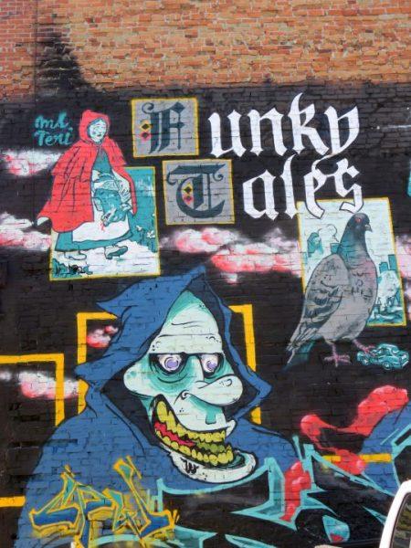 Graffiti – Montreal Quebec Street Art
