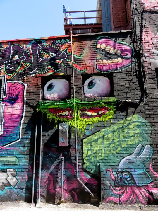Graffiti around the world - Montreal Quebec Canada - host of Graffiti Convention each August
