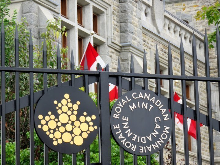 Royal Canadian Mint - investment grade and collector coins in gold, silver, platinum