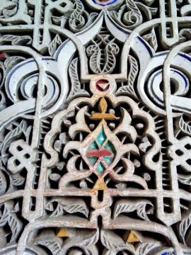 Fine craftsmanship - Dar Si Said - Museum of Moroccan Arts in Marrakech
