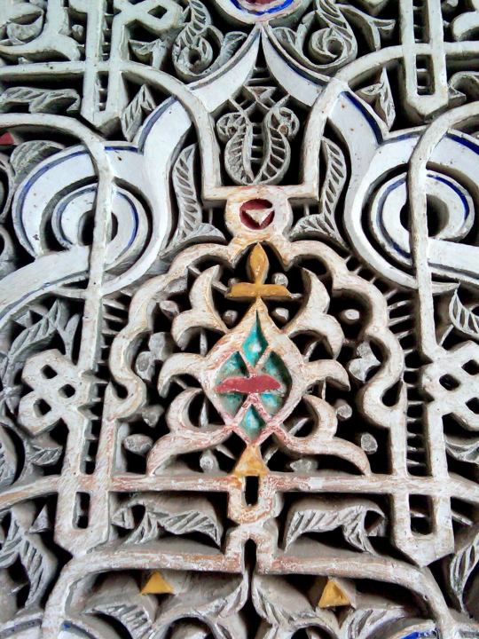Fine craftsmanship - Dar Si Said - Museum of Moroccan Arts in Marrakech