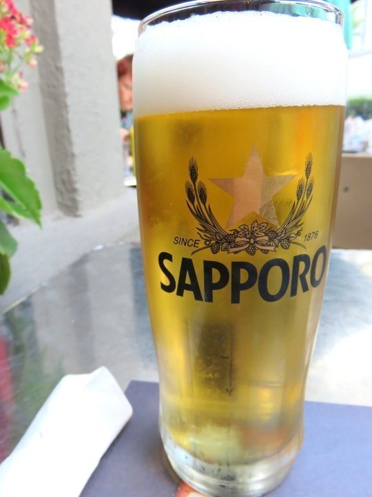 Beer to quench the thirst on a summer day - Montreal Quebec - Koreana Pub Coreen