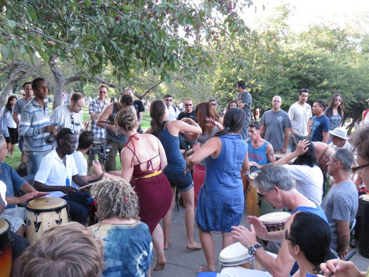 Sundays at Mont Royal Park in Montreal - Tam Tams - free music festival with a relaxed vibe