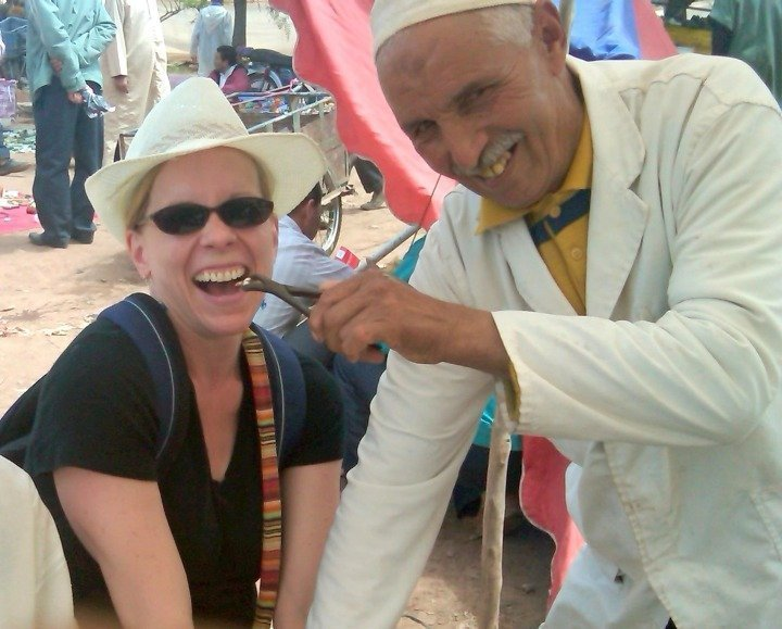 Ourika Valley Morocco - my friendly dentist barber