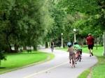 Beautiful Rideau Canal walkway in Ottawa Ontario - Canada''s capital