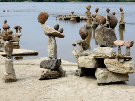 Remic Rapids Ottawa River and the Art of Rock Balancing