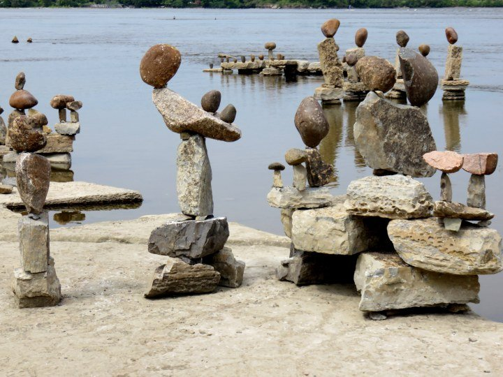 Rock Art Remic Rapids Ottawa River - an annual event held each summer - free event