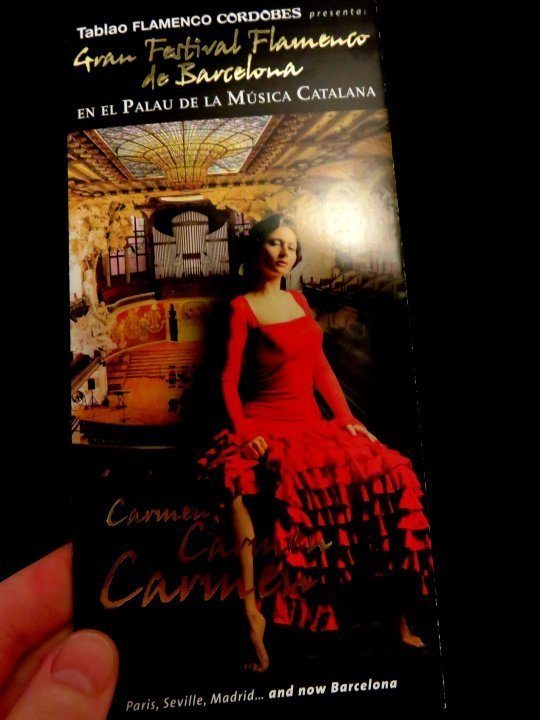 La Ribera district Barcelona - enjoy a Flamenco concert at Palau de la Musica de Catalana