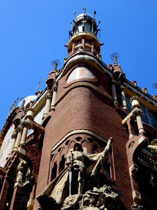 La Ribera district Barcelona - attend Flamenco dancing and concerts at Palau de la Musica Barcelona