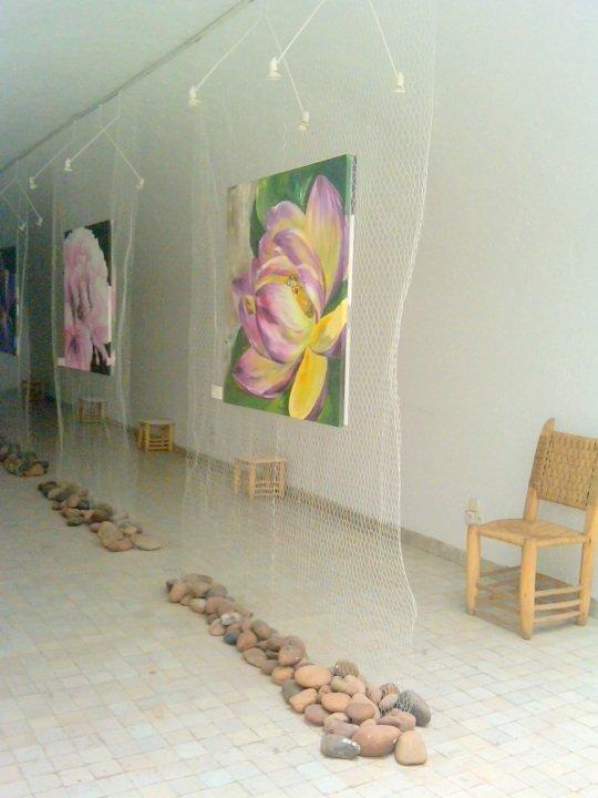 Contemporary art -visit Dar Bellarj next to Ben Youssef Madrasa