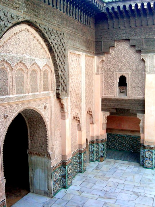 Museums of Marrakech Morocco - not to be missed - Ben Youssef Madrasa