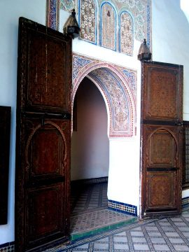 Dar Si Said Museum in Marrakech Morocco