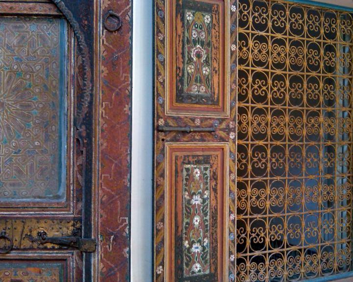 Fine craftsmanship - Palais de la Bahia